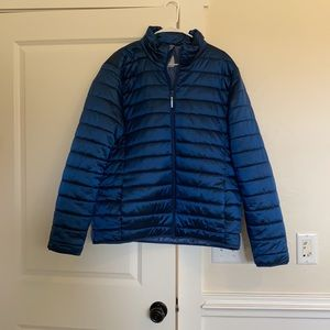 Good fellow XL puffer coat. Great used condition